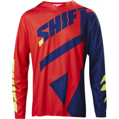 Maillot SHIFT Mainline NVY/RD