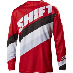 Maillot SHIFT Whit3 Tarmac Rouge