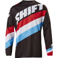 Maillot SHIFT Whit3 Tarmac Noir