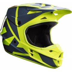 Casque FOX V1 RACE JAUNE