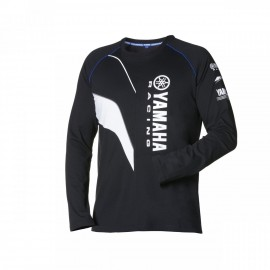 Tee Shirt Yamaha Racing Noir à manche longue 2016