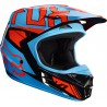 Casque FOX V1 FACON NOIR / ORANGE