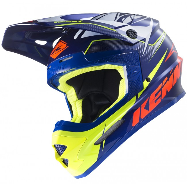 Casque Kenny Track Marine