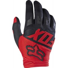 Gants Fox DIRTPAW RACE Rouge 2017