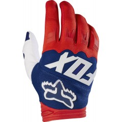 Gants Fox DIRTPAW RACE Rouge / Blanc 2017