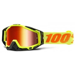 Lunettes MX 100% RACECRAFT ATTACK YELLOW
