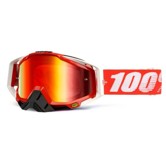 Lunettes MX 100% RACECRAFT FIRE RED