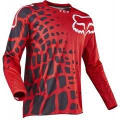 Maillot FOX 360 GRAV ROUGE 2017