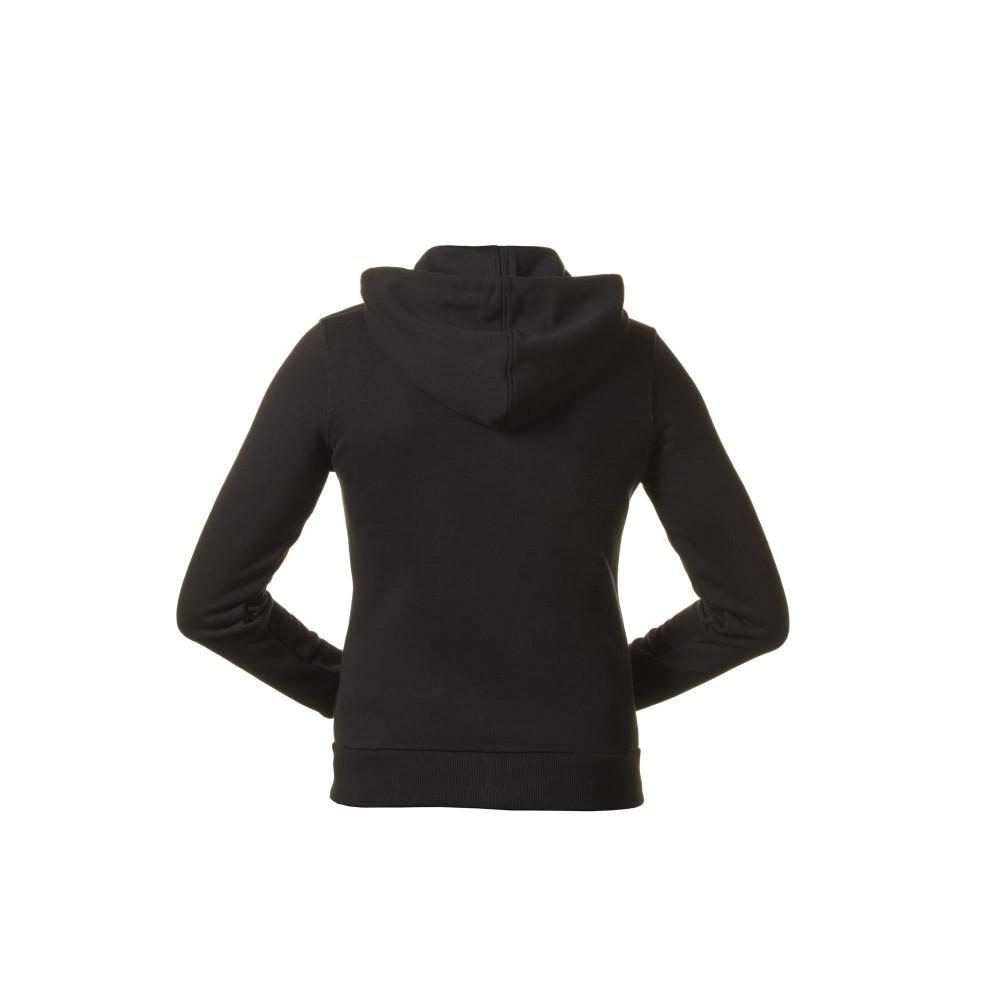 sweat yamaha capuche noir pour femme moto and co. Black Bedroom Furniture Sets. Home Design Ideas