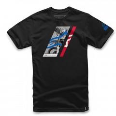 Tee Shirt Alpinestars Section Noir