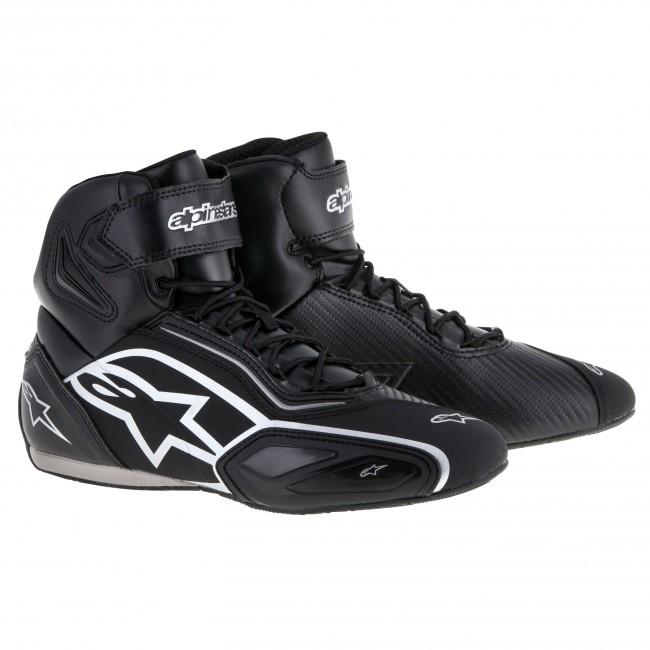 83e91455091 Basket Alpinestars Faster 2 Noir Silver - Moto And Co