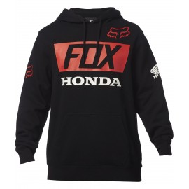 Sweat Honda Noir Fox 2017