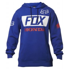 Sweat Fox Honda Bleu