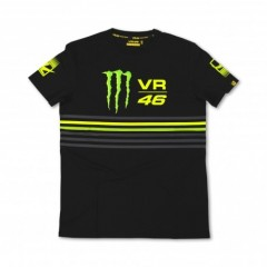Tee Shirt Noir Vr46 Monster