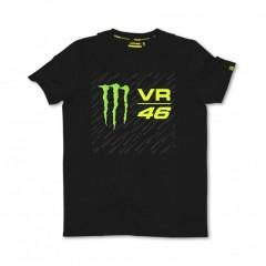 Tee Shirt Noir Vr46 Monster