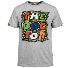 Tee Shirt Gris VR46 The Doctor