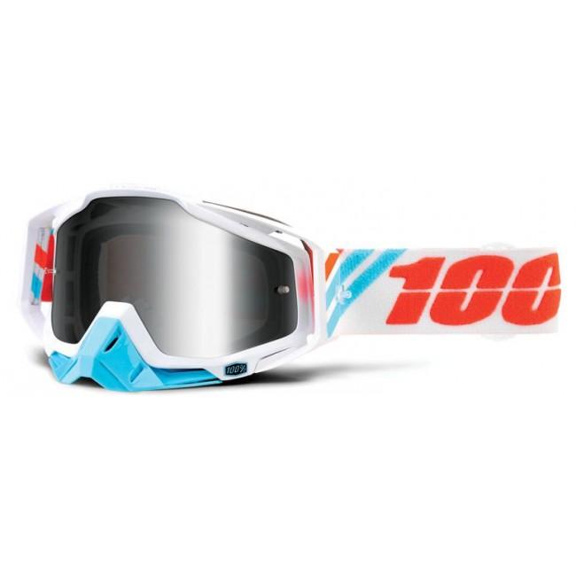 Lunettes MX 100% RACECRAFT CALCULUS ICE