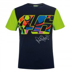 Tee Shirt Valentino Rossi Bleu VR46