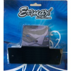Support de plaque universel Mini Ermax SUP00 Alu Noir