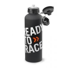 Gourde KTM en aluminium Ready To Race Noir