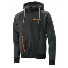 Sweat Zippé KTM Mechanic Noir