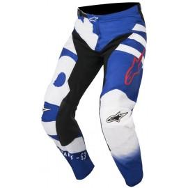 Pantalon Alpinestars Racer Braap Bleu Blanc Rouge