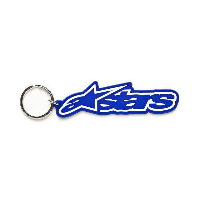 Porte clés Alpinestars Rub Bleu