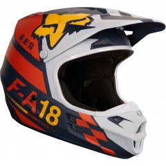 Casque FOX V1 Sayak Orange