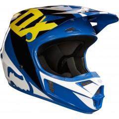 Casque FOX V1 Race Bleu