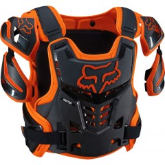 Gilet Fox Raptor Orange / Noir