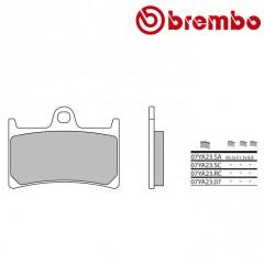Plaquettes de frein Brembo 07YA23 SA métal fritté