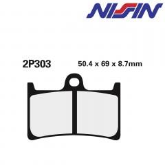 Plaquettes de frein Nissin 2P303ST