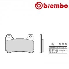 Plaquettes de frein avant Brembo 07HO50 SA métal fritté