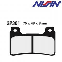 Plaquettes de frein avant Nissin 2P301ST
