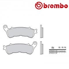 Plaquettes de frein avant Brembo 07HO57 SA métal fritté