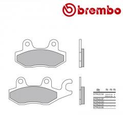 Plaquettes de frein avant Brembo 07YA22 SA métal fritté