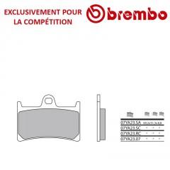 Plaquettes de frein avant Brembo 07YA23 RC Carbone Ceramique Racing