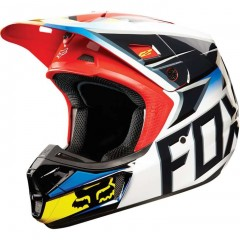 Casque Fox V2 Race Noir / Rouge