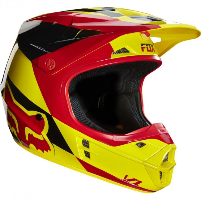 Casque Fox V1 RACE Orange