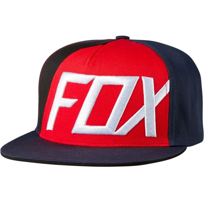 Casquette Fox Inverter Rouge