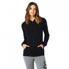 Sweat Zippé FOX Affirmed Noir