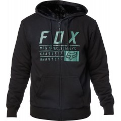 Sweat Zippé FOX Compliance Sasquatch Noir