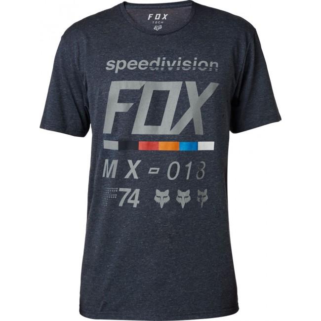 Tee Shirt FOX Draftr Tech Bleu nuit