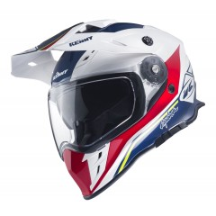 Casque Kenny Explorer Bleu Blanc Rouge