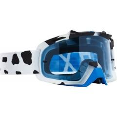 Lunettes MX FOX Air Space Grav Blanc / Bleu