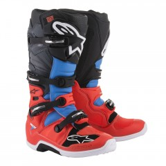 Bottes Alpinestars TECH 7 Rouge Bleu Gris Noir