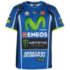 Tee Shirt Valentino Rossi Yamaha Movistar