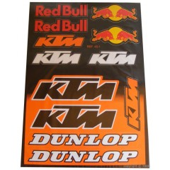 Stickers KTM Red Bull Dunlop