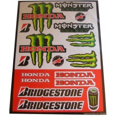 Stickers Honda Monster Bridgestone