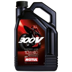 300V 10W40 Factory Line Road Racing - 4 LITRES